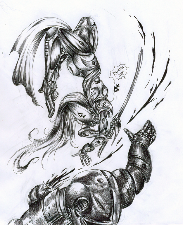 Banshee attack warhammer 40000 by Axcido
