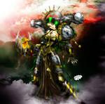 Chaos Lady Iron Warrior