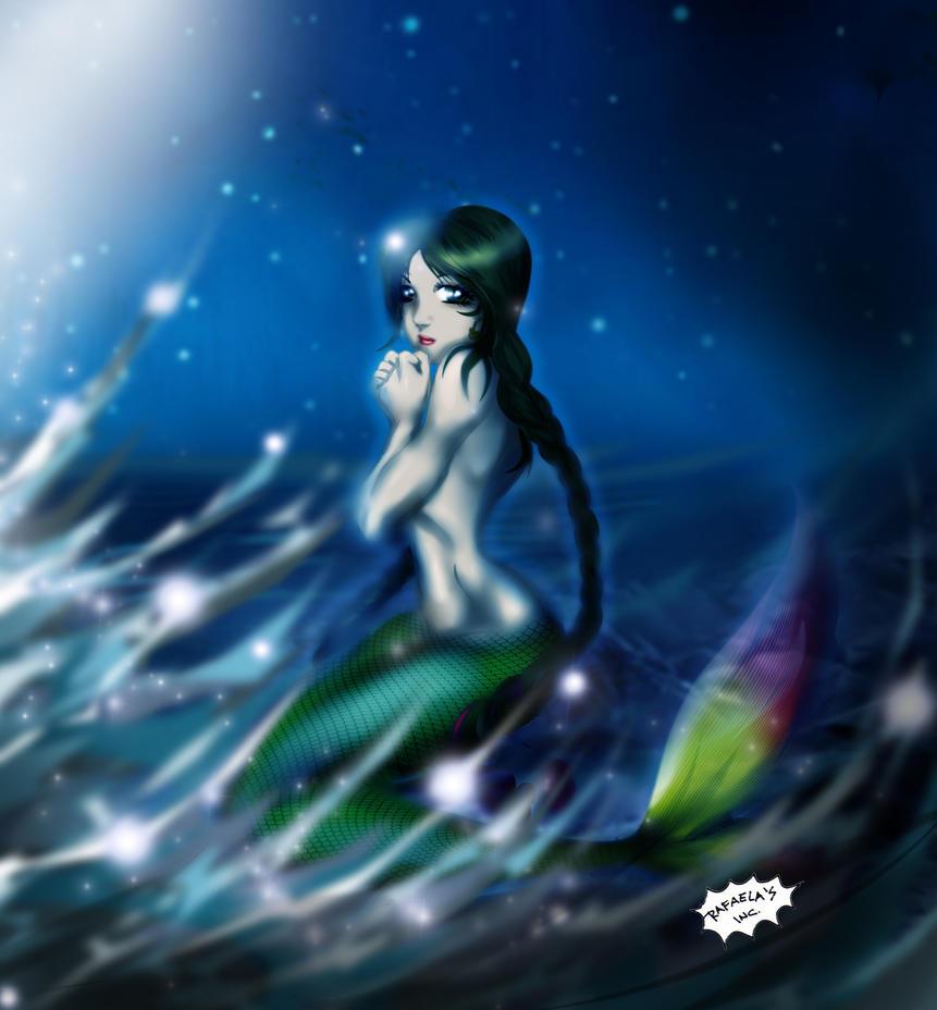 Titicaca's Mermaid Gift to Sirenabonita by Axcido