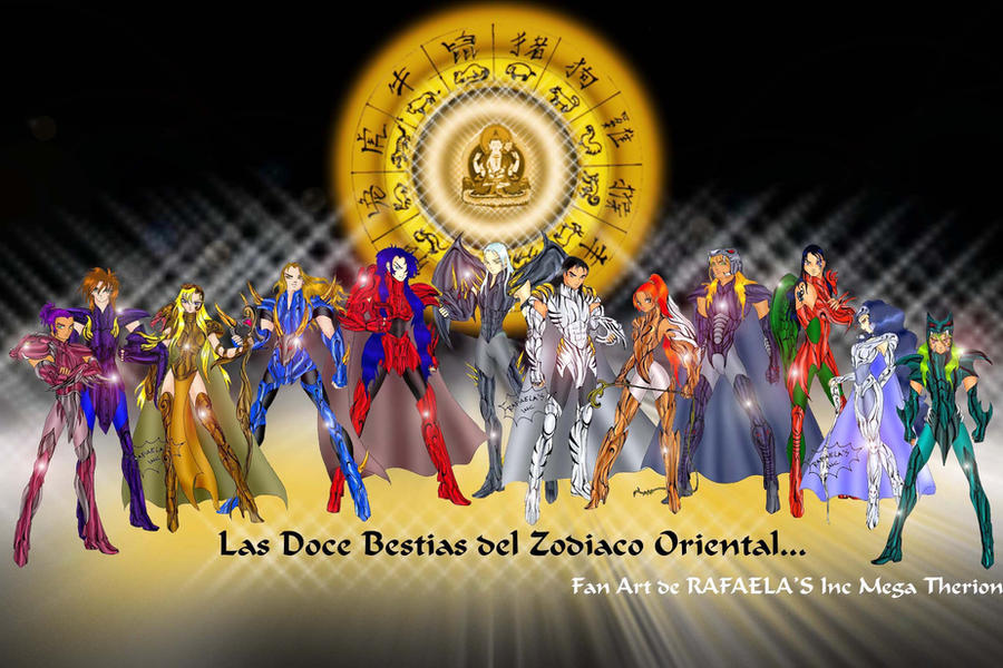 DeviantArt: More Like Los caballeros del Zodiaco Chino by Axcido