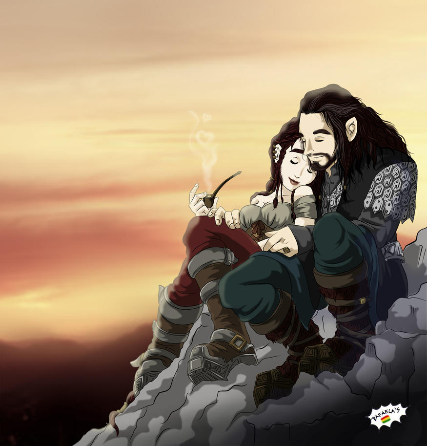 Thorin's wife by Axcido