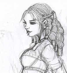 Female dwarf by Axcido