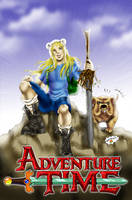 Adventure Time 10 years later by Axcido