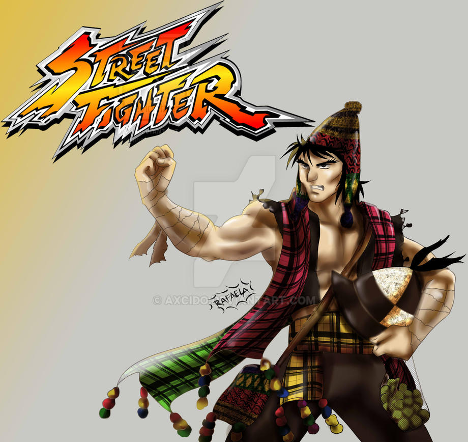 Tinku!!! Street Fighter by Axcido