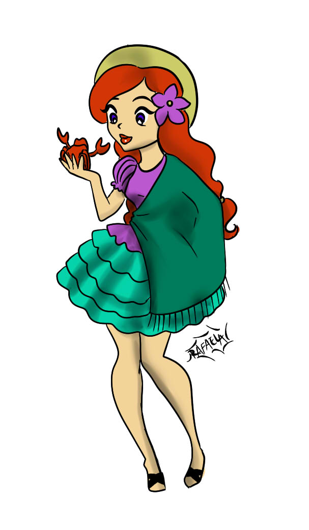 The Little Mermaid chapaquita by Axcido