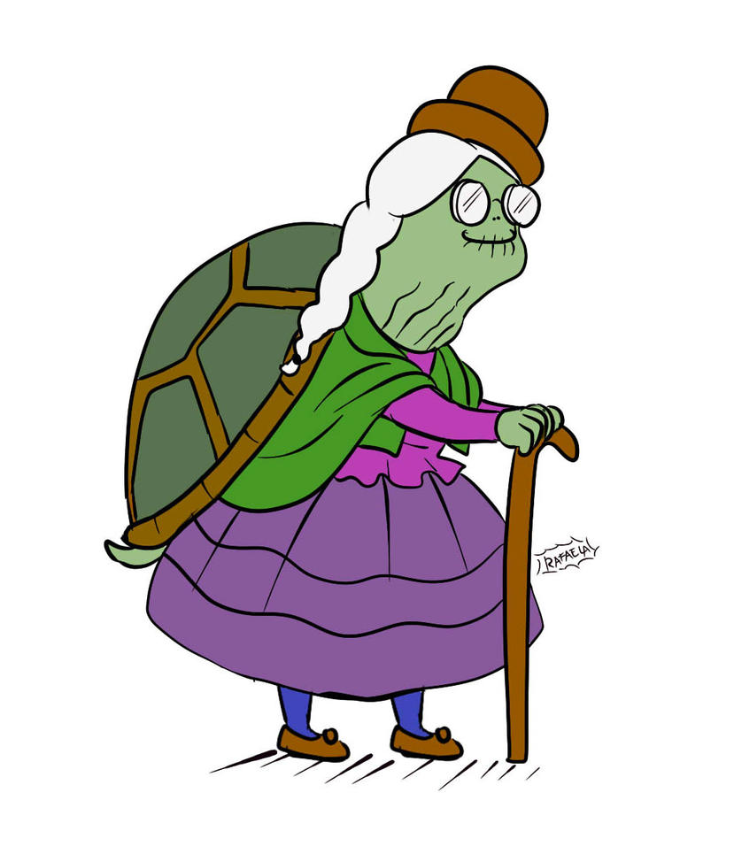 turttle granny... by Axcido