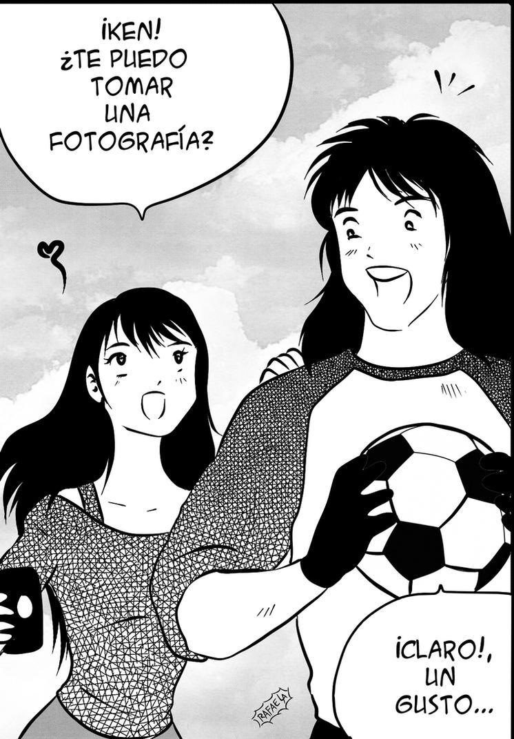 Ken Wakashimazu's girlfriend   1981 by Axcido