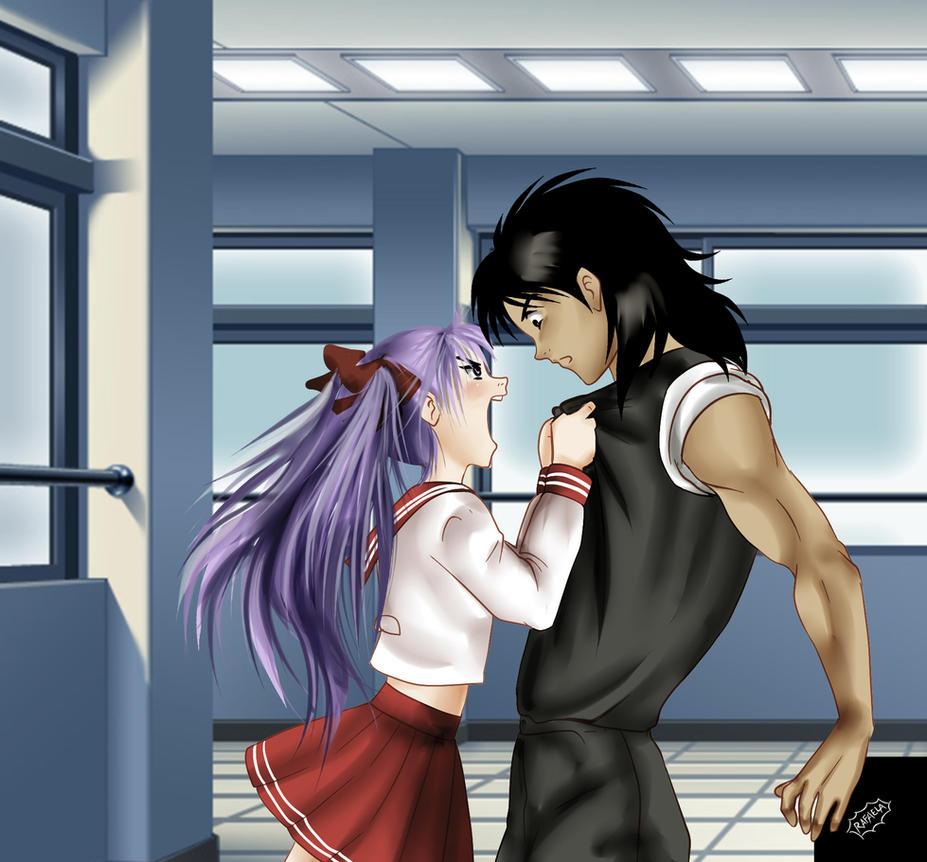 Kagamin and Kojiro by Axcido
