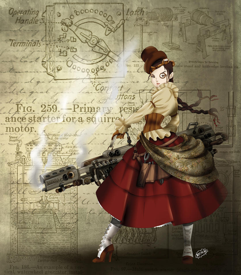 Steampunk Chola by Axcido