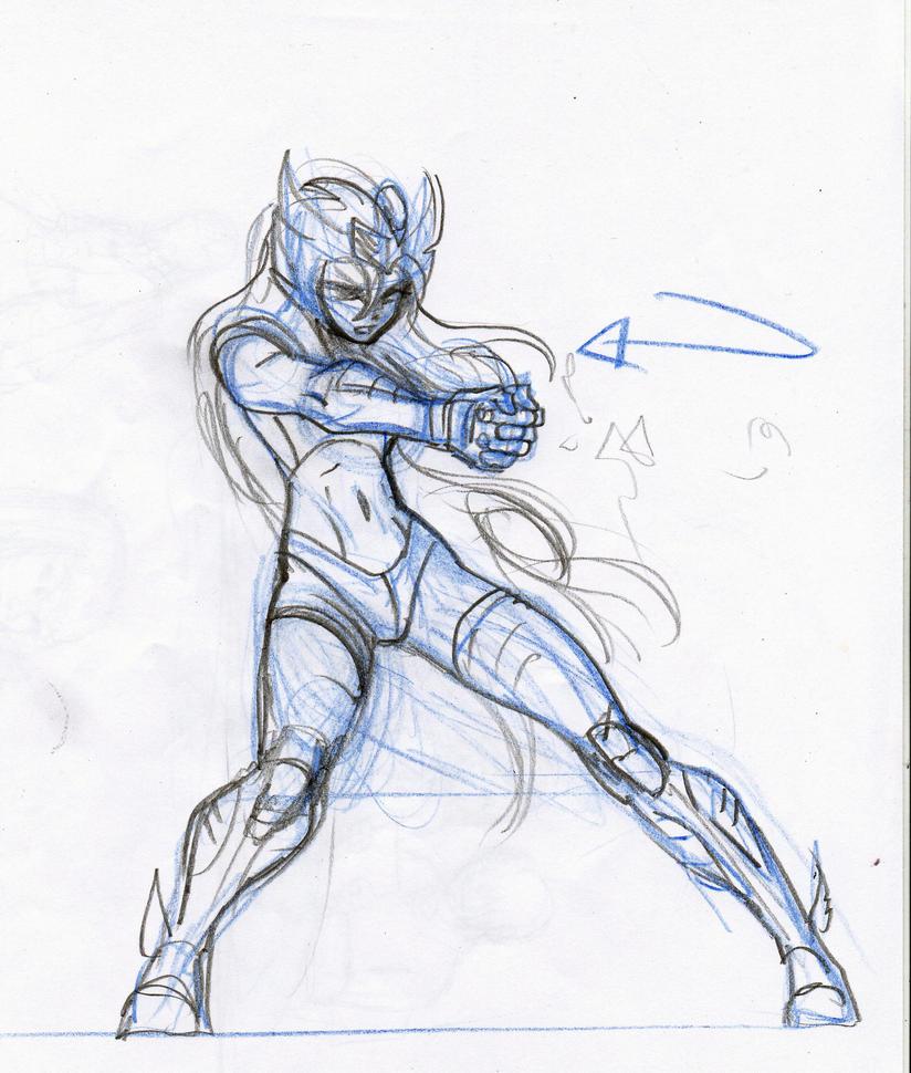 Cygnus GenderBender sketch by Axcido