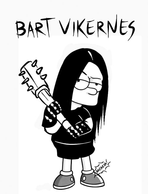 Bart Vikernes by Axcido