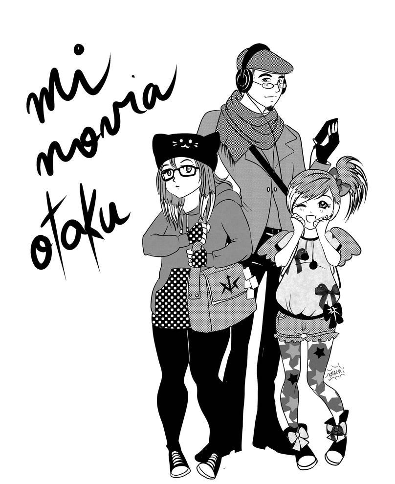 Otaku girlfriend by Axcido