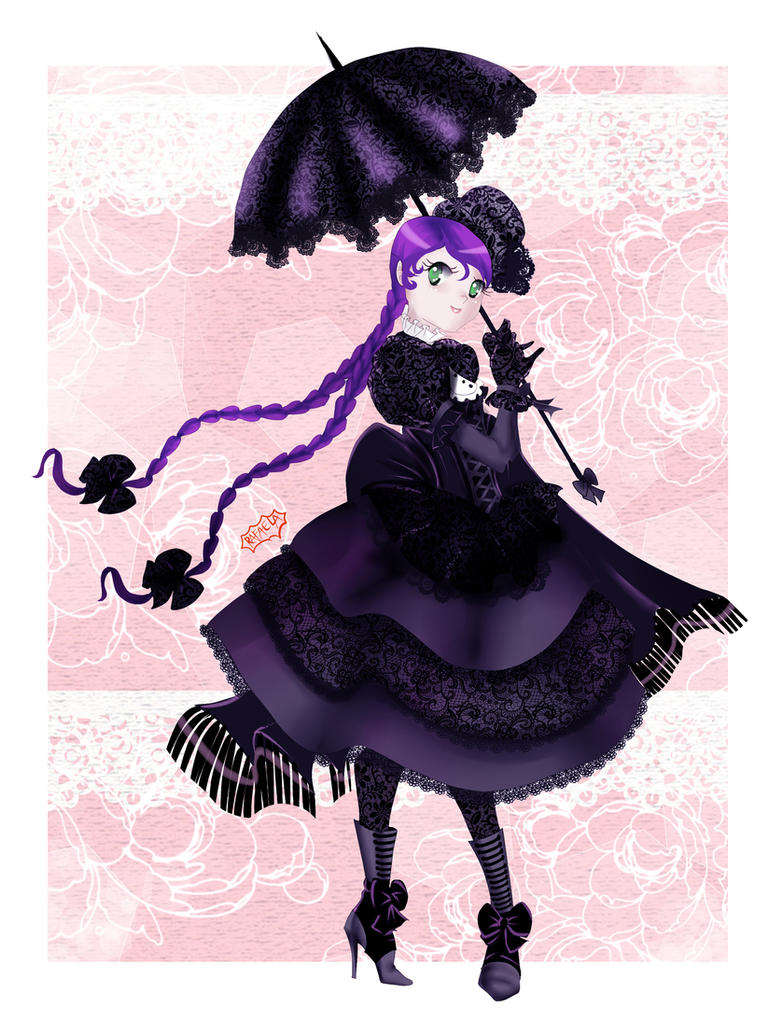 Gothic Cholita by Axcido