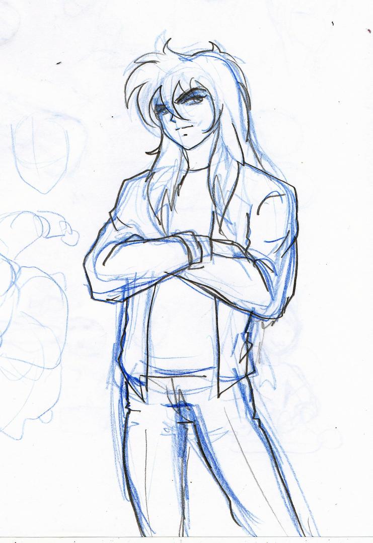 Milo sketch by Axcido