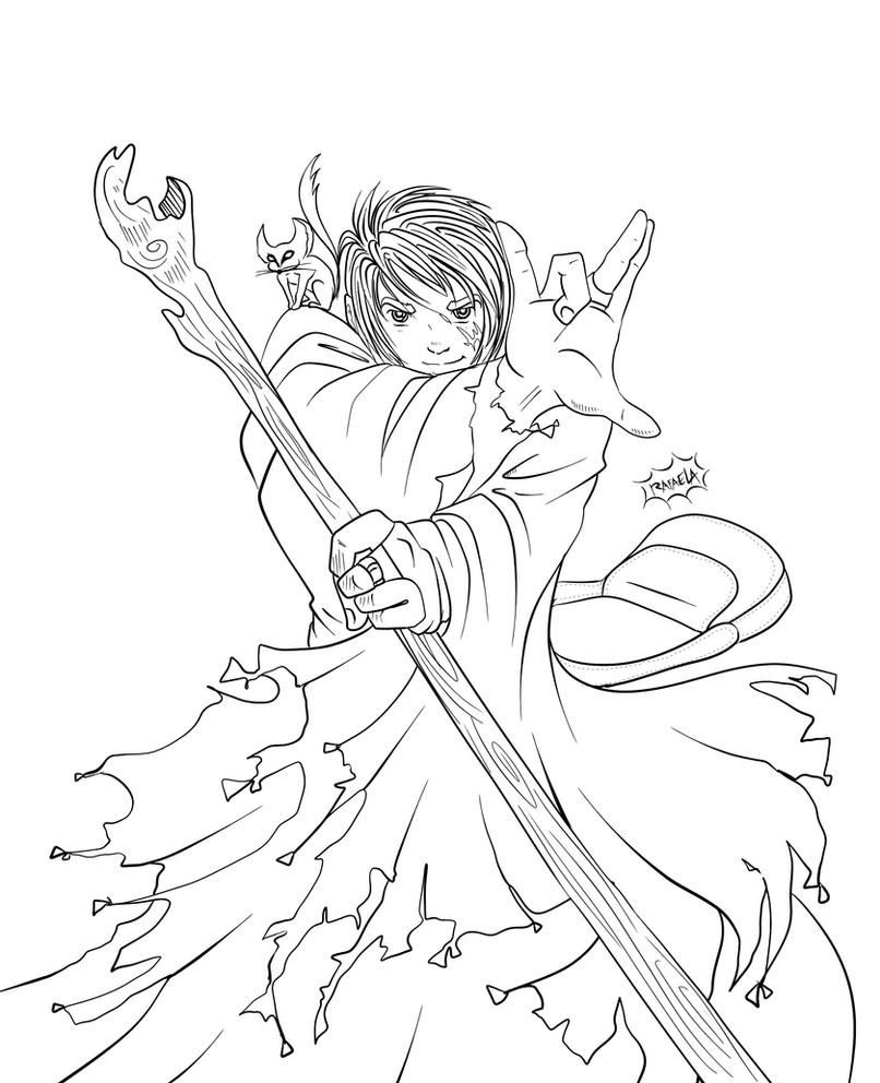 Ged lineart. by Axcido