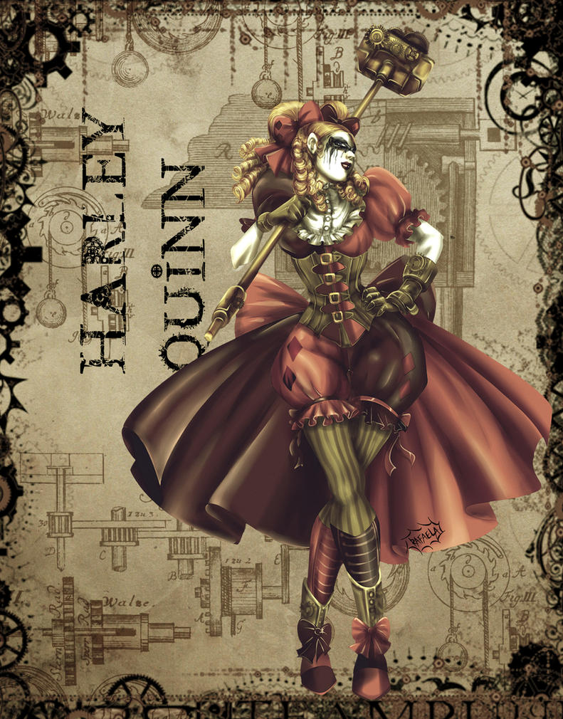 SteamPunk Harley by Axcido