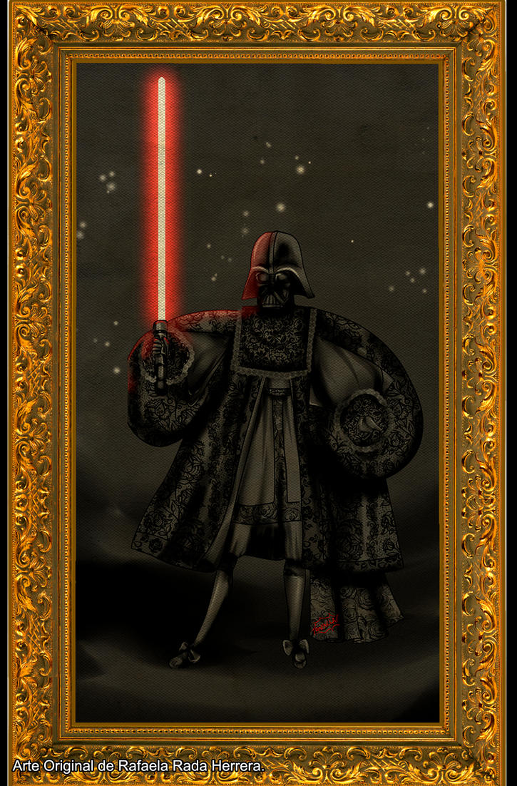 Darth Vader Andean Baroque by Axcido