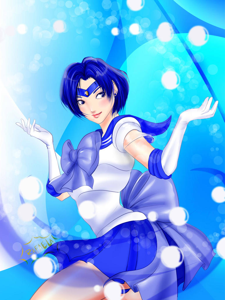 Sailor Mercury by Axcido