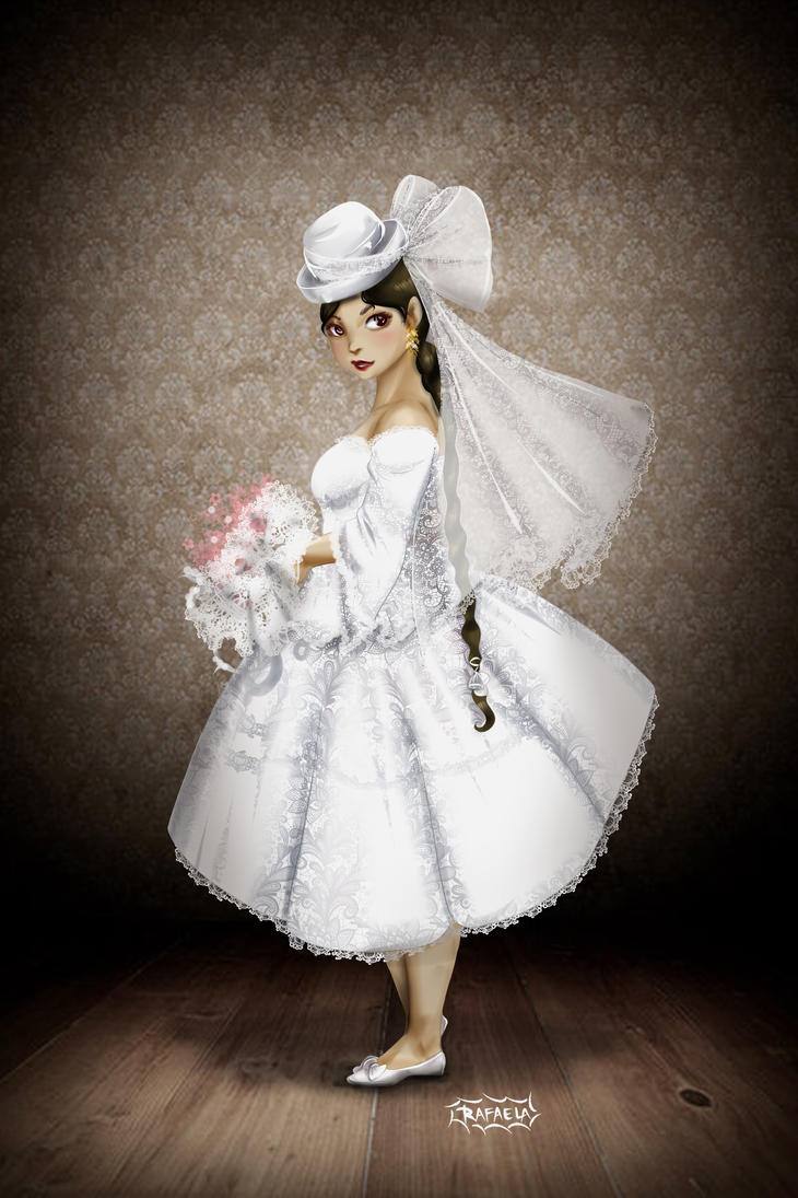 Cholita bride by Axcido