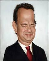 Tom Hanks Coloured by Sycra