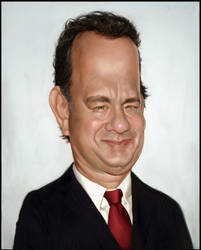 Tom Hanks Coloured by Sycra
