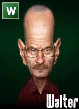 Breaking Bad Caricature - Walter White