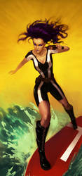 Surfin Girl by Sycra
