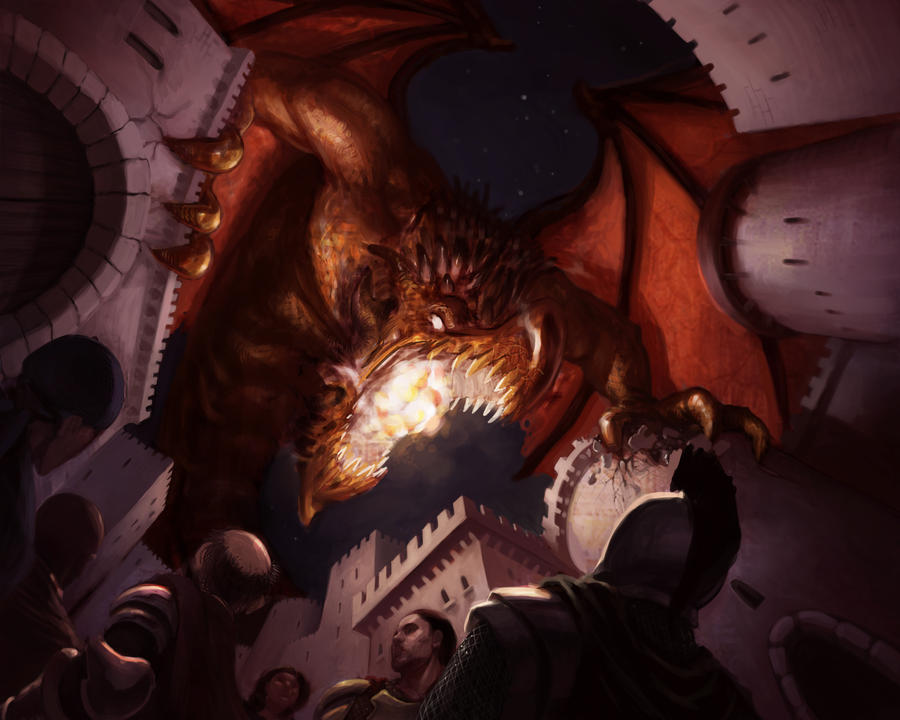 Dragon Attack by Sycra on DeviantArt