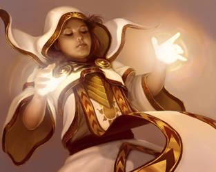 Priestess of Light by Sycra