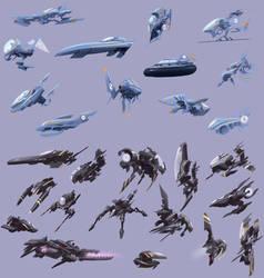 Ship Thumbnail Designs by Sycra