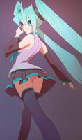 Hatsune Miku by Sycra