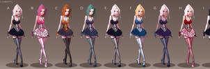 Harlot Colour Concepts by Sycra