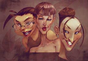 Trio by Sycra