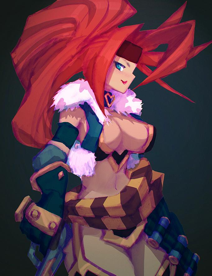 Red Monika Sycrafied
