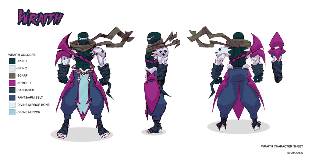 Wraith Character Sheet by Sycra