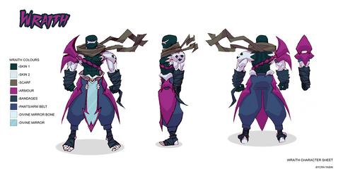 Wraith Character Sheet