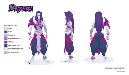 Mezera Character Sheet by Sycra