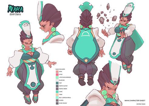 Naha Character Sheet