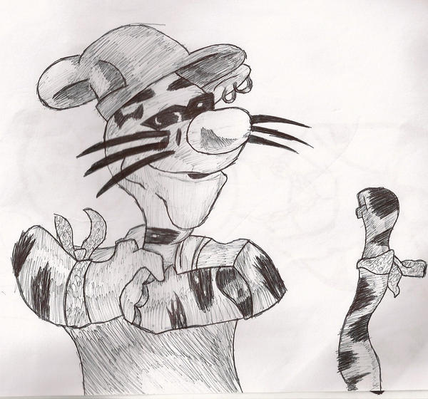 Gangster winnie the pooh drawing