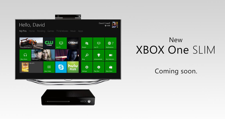Xbox One Slim Concept XBOX One Slim concept ...