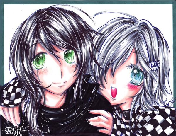 Vampire Boy- Commission by tagl