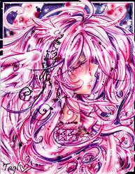 Pink. Purple. White. Strings:. by tagl