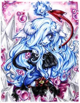 Blue Maiden Shiva: Commission:
