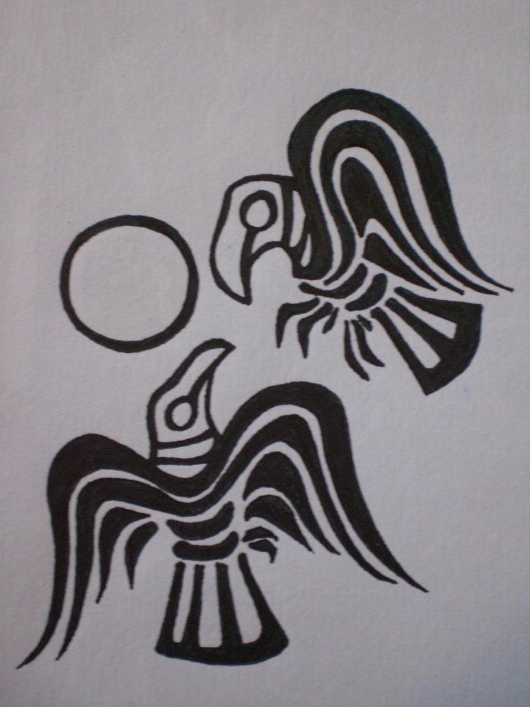 huginn and muninn my tattoo by zoharglait