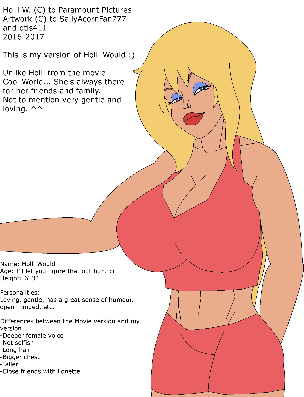 Holli Would My Version By Sallyacornfan777 On Deviantart Последние твиты от holli would (@holliwouldhot). holli would my version by