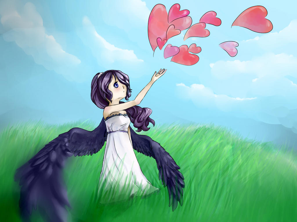 I'll let my Love fly for me. by cloud-reacher