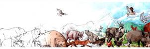 Animals process