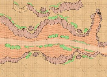 map free color desert for you RPG battles by xemuz