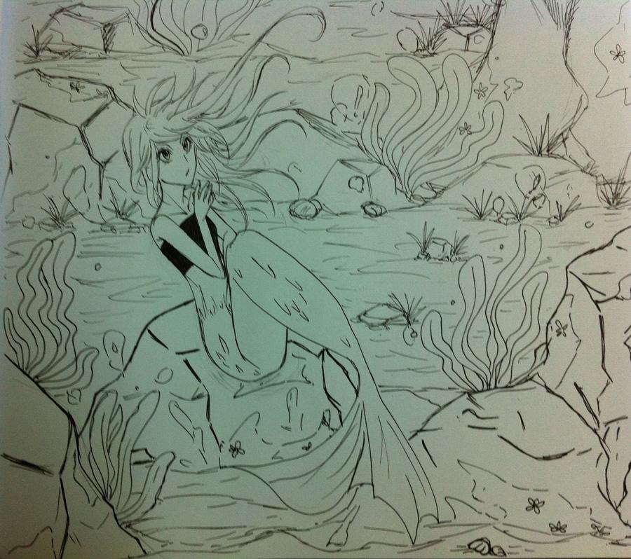 My mermaid by dear12211