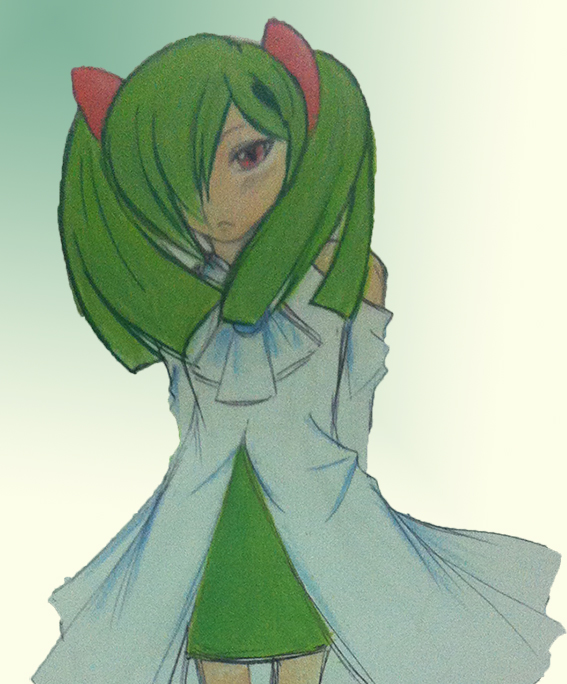 Gijinka Kirlia by dear12211